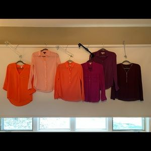 Blouse Bundle 6 for $60